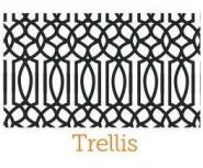 Trellis embossing pattern for the dimension doormats by everything doormats.