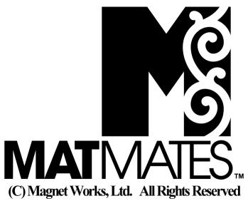 Studio M & Magnet Works Limited MatMates trademark logo